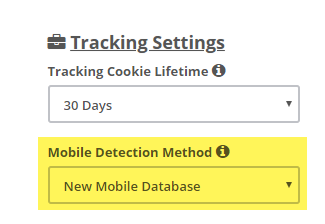 Mobile Detection Method