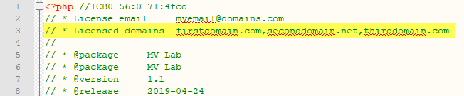 MVLab allowed domains